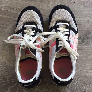 Onitsuka Tiger Shoes 10 Pink Black Sneakers Asics